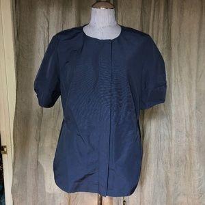 COS ASNEW navy blue long tunic top 44 L